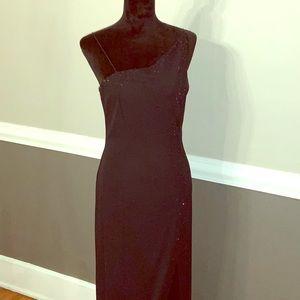 Niki black evening gown